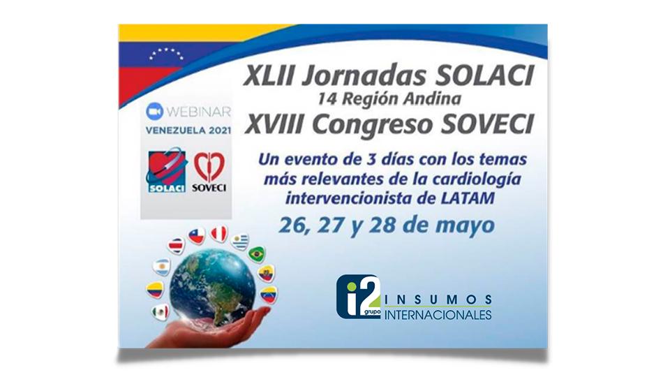 Grupoi2 presente en las jornadas Solaci - Soveci 2021 | Grupo i2